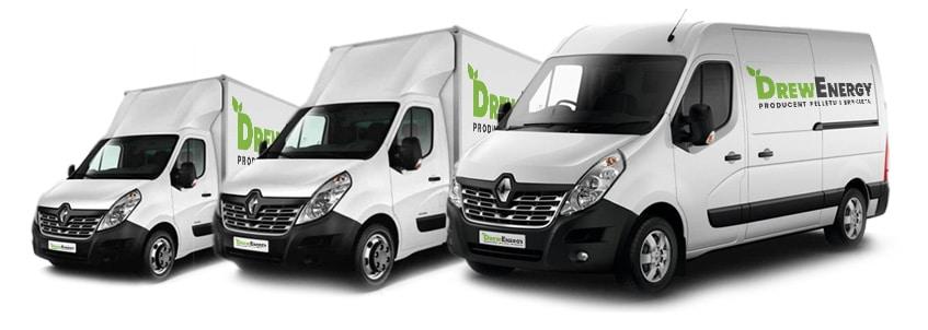 W Drew Energy zapewniamy transport do klienta